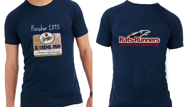Das Finisher Shirt des Schlappe-Seppel X-TREME-RUN 2015