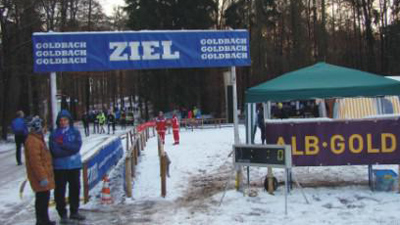 Winter Crosslaufserie des TV Goldbach