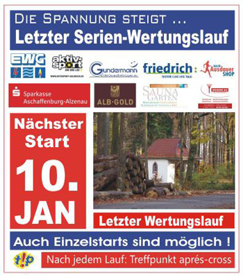 Winter Crosslaufserie Goldbach